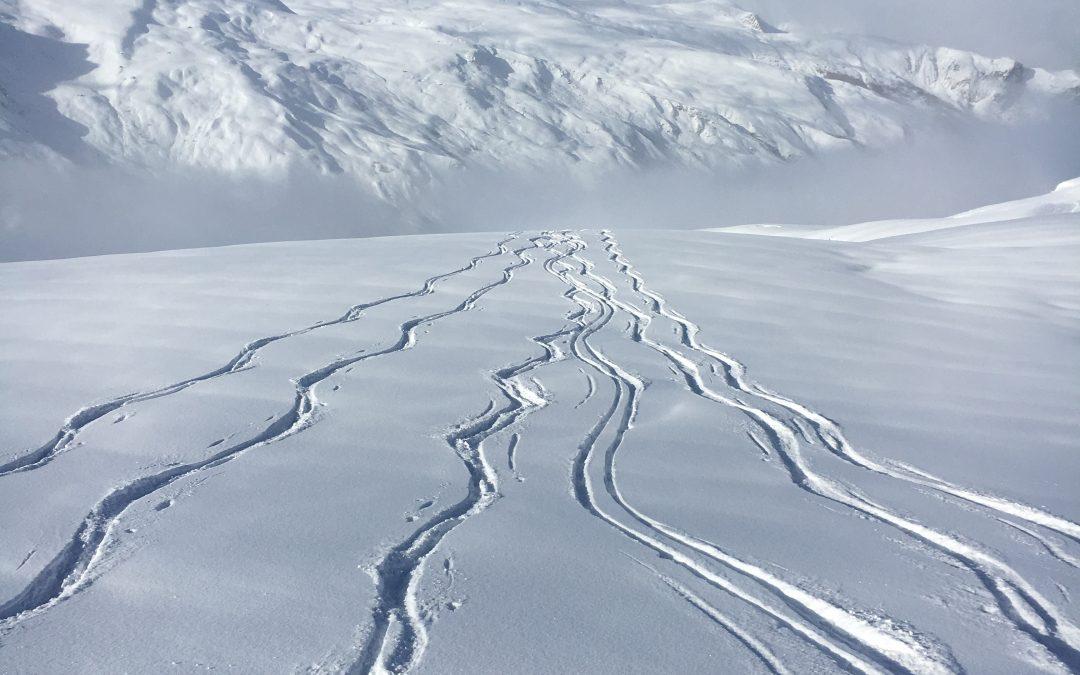 A winter of extraordinary snow falls in Meribel