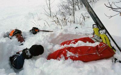 December Skiing In Meribel