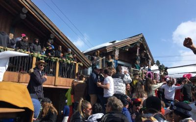 End Of Season In Meribel